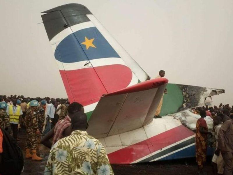 Buruknya jarak pandang menjadi penyebab kecelakaan pesawat di Sudan Selatan (Foto: Sky News)