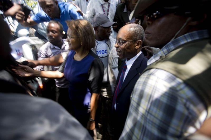 Mantan Presiden Haiti, Jean-Betrand Aristide. (Foto: AP)