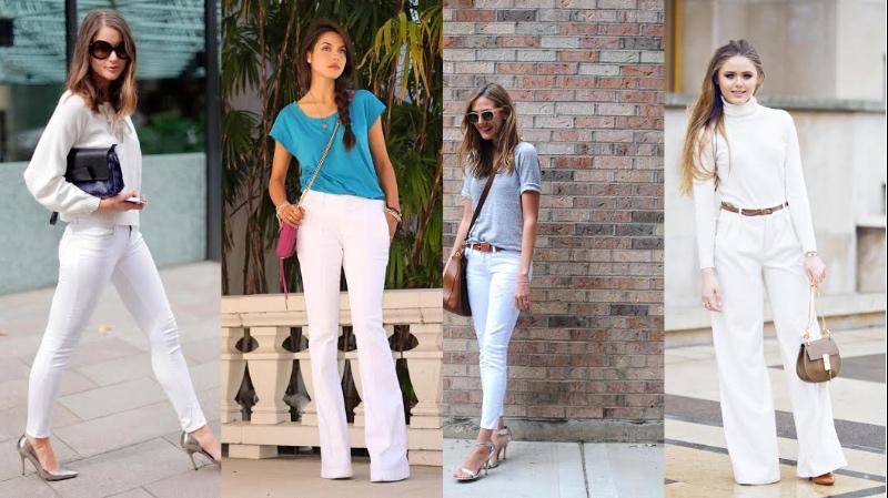 Trik Mengenakan Celana Putih Agar Penampilan Lebih Ramping Okezone