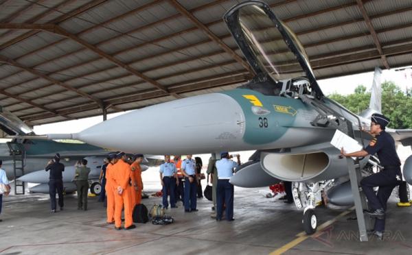 Pengiriman bertahap pesawat hibah F-16 (Foto: Antara)