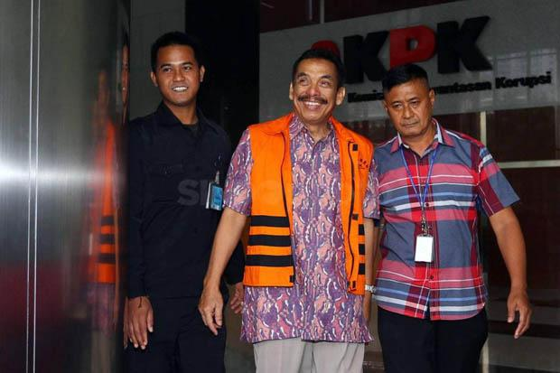 Wali Kota Madiun Bambang Irianto diperiksa KPK
