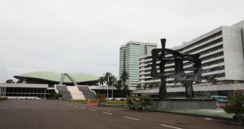 ilustrasi Gedung DPR RI (Foto: Dok. Okezone)