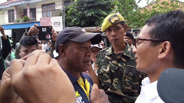 Sandiaga saat bertemu dengan Teman Ahok (foto: Fardi/Okezone)
