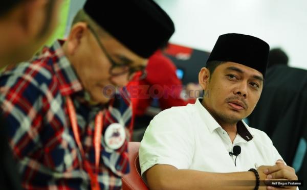 Wakil Ketua Tim Media Anies-Sandi, Naufal Firman (foto: Okezone)