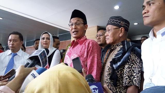 Saksi ahli agama kubu Ahok, KH Ishomuddin (foto: Ferio/Okezone)