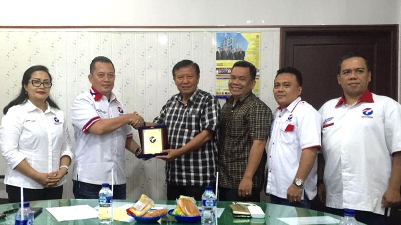 Audensi Perindo dengan Muhammdiyah Sumut. Foto dok Perindo