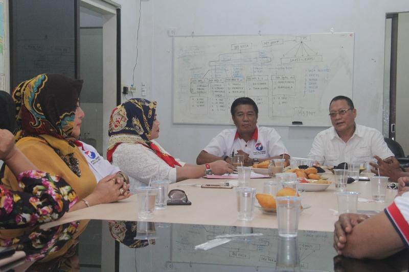 Rapat korrdinasi Perindo Makassar. Foto dok DPD Perindo Makassar