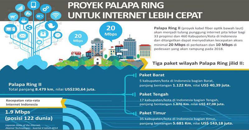 Pemerintah Gunakan Skema Availability Payment untuk Proyek Palapa Ring