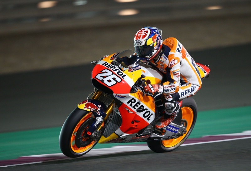 Jelang MotoGP 2017, Sirkuit Losail Diguyuri Hujan? Pedrosa: Tak Masalah!