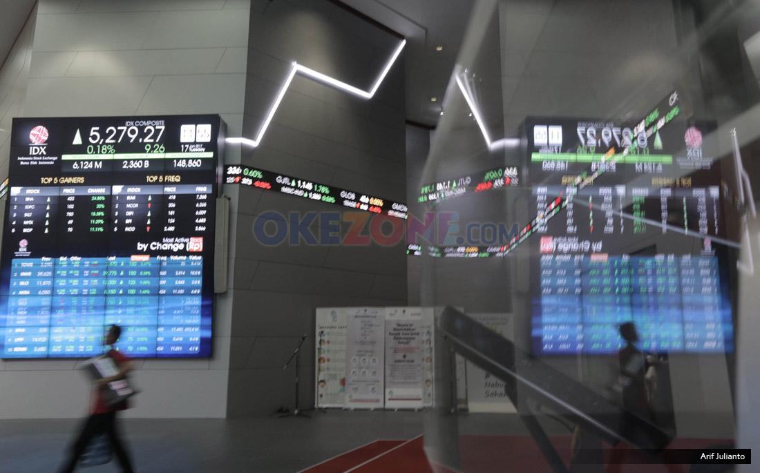 Mantap! IHSG dan Nilai Kapitalisasi Pasar Kembali Cetak Rekor