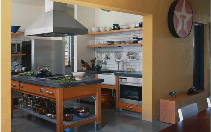 Punya dapur besar yuk buat desain kitchen set seperti ini for Buat kitchen set