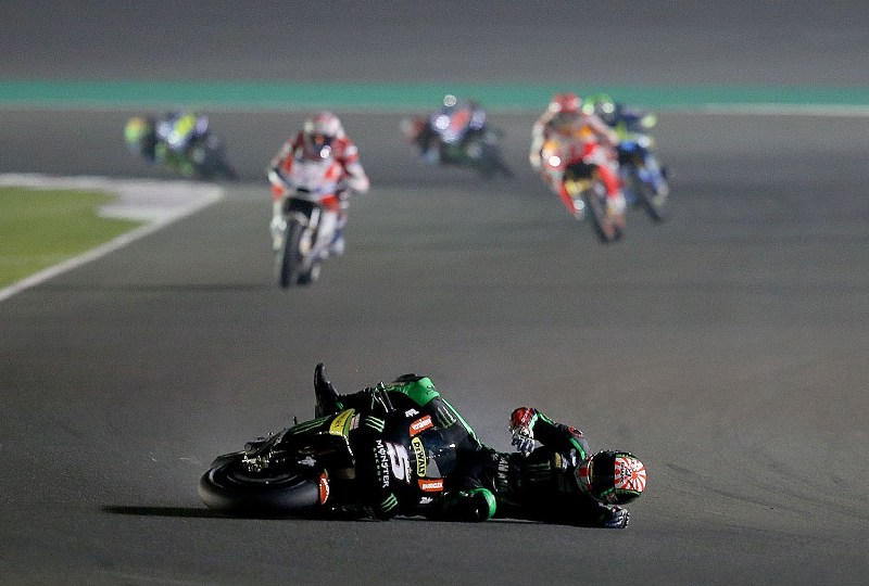 Sportpedia: Momen-Momen Terbaik di GP Qatar 2017