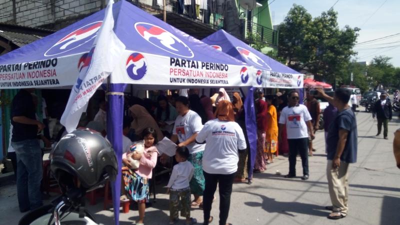 Gelar Bazar Murah, Bukti Perindo Dekat dengan Masyarakat Kelas Bawah