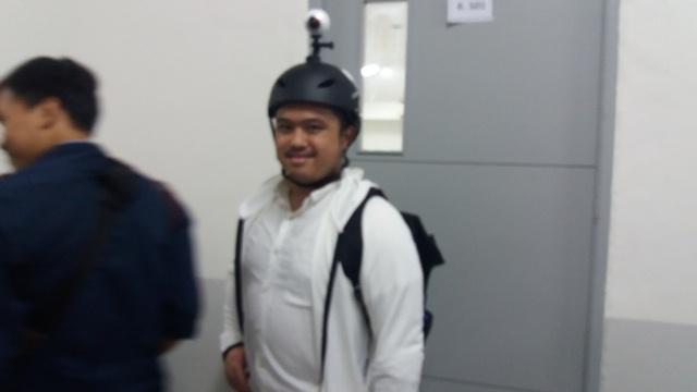 Sandiaga Kenalkan Mr 360 Man, Sosok Perekam Kesehariannya