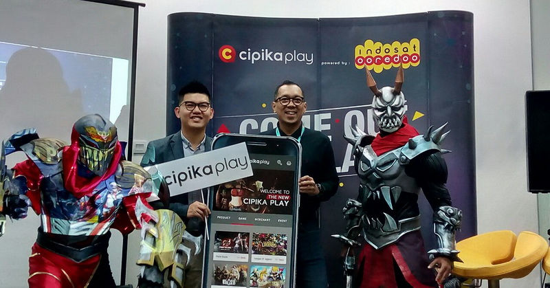 Indosat Ooredoo Tawarkan Aplikasi Cipika Play untuk Gamer