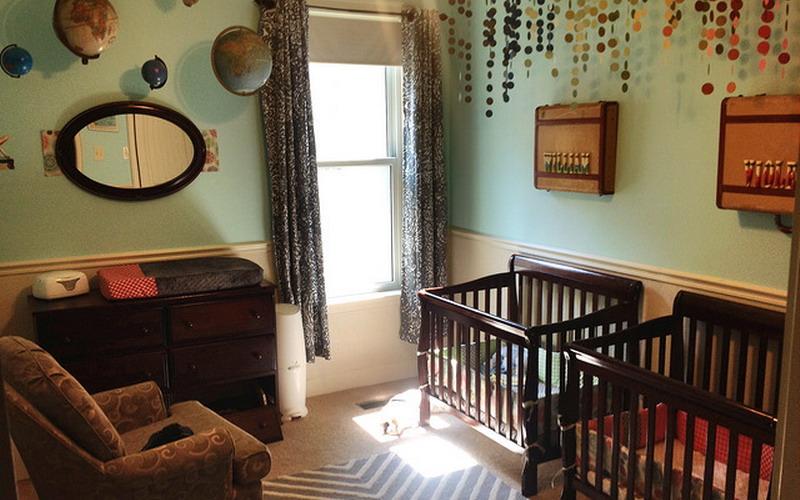 inspirasi dekorasi kamar untuk si kembar laki laki dan