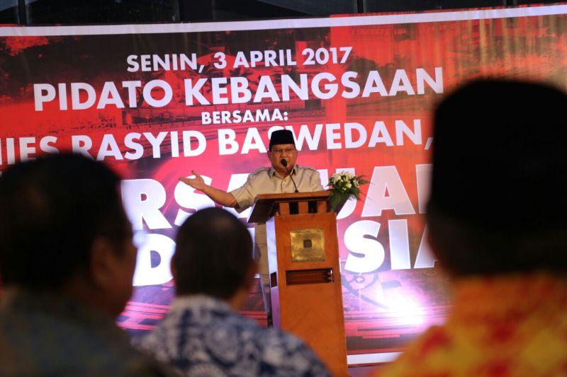 Ketua Umum Partai Gerindra Prabowo Subianto (Foto: Achmad Fardiansyah/Okezone)
