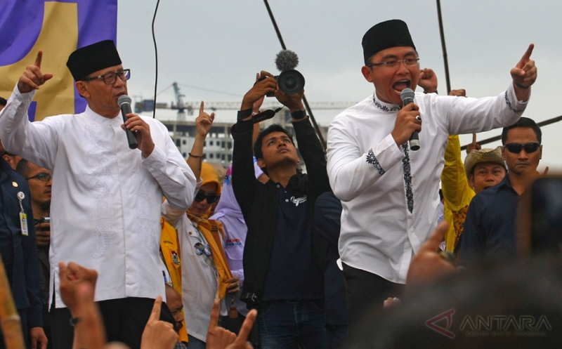 Tim Wahidin-Andika Sambut Kemenangan dengan Penuh Syukur