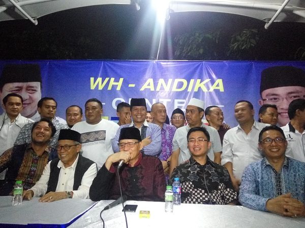 Menangi Pilgub Banten, Wahidin Halim-Andika: Ini Kemenangan Rakyat