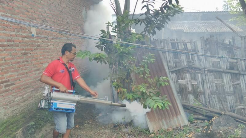 Tangkal Demam Berdarah, Partai Perindo Fogging 300 Rumah ...