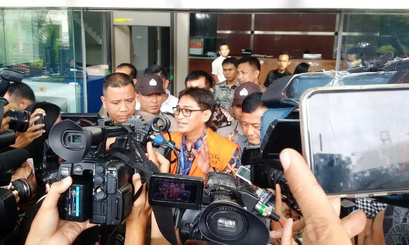 Choel Mallarangeng Jalani Sidang Perdana Korupsi Proyek Hambalang