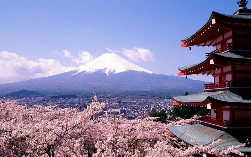 Hasil gambar untuk gunung fuji