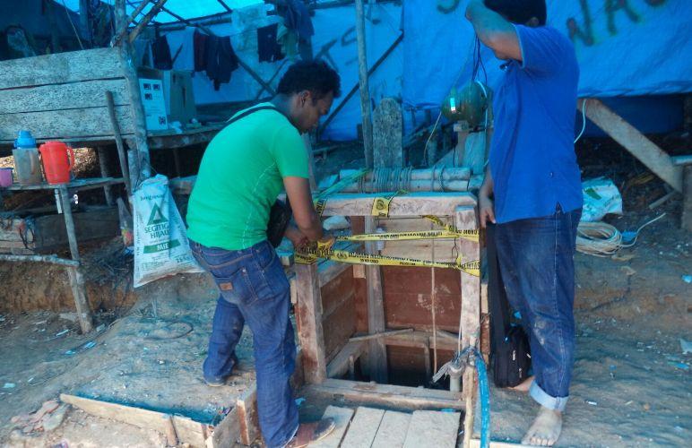 Puluhan Penambang Emas Ilegal di Monokwari Ditangkap