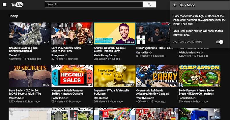 Intip Tips Aktifkan Dark Mode YouTube di Chrome