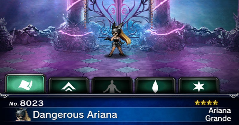 Karakter Ariana Grande Kembali Meriahkan Game 'Final Fantasy Brave Exvius'