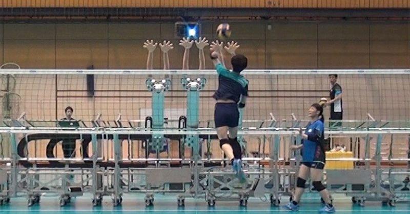 Jepang Pakai Robot untuk Latih Tim Voli Perempuan