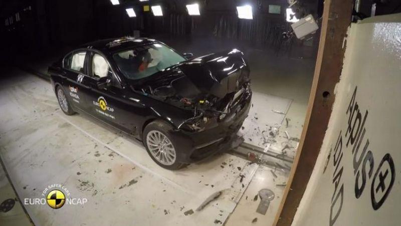 BMW Seri 5 raih rating 5 bintang uji tabrak Euro NCAP (Euro NCAP)