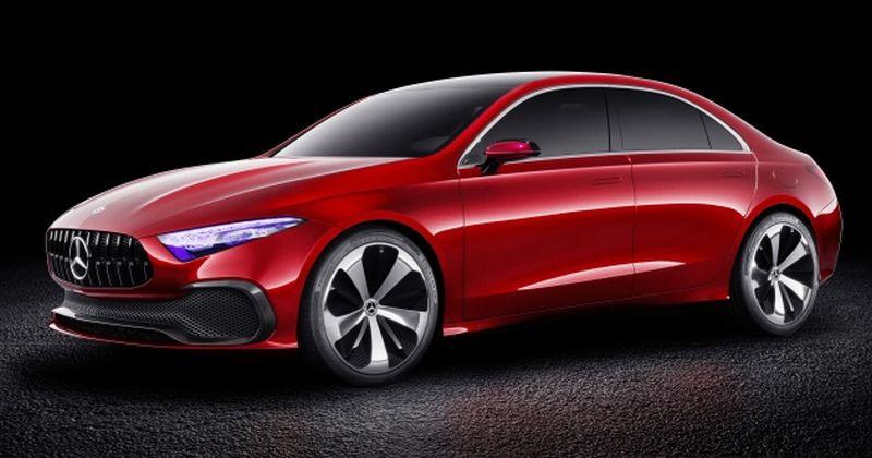 Mercedes Benz Concept A Sedan (Mercedes Benz)