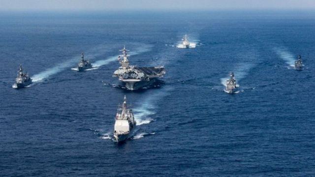 Rusia-China Disebut Kirim Kapal Pengintai ke Semenanjung Korea