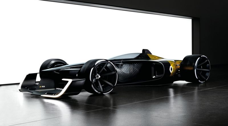 Mobil konsep F1 Renault R.S. 2027 (Motor1)