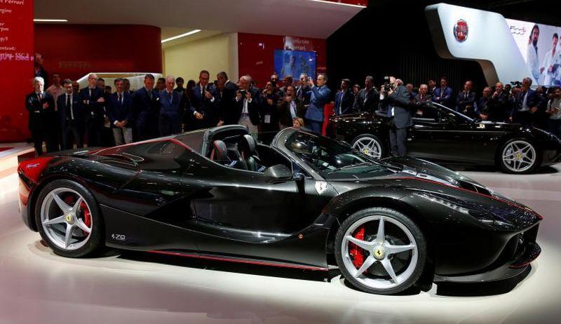 Ferrari LaFerrari Aperta (Foto: Reuters)