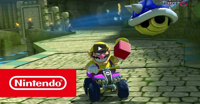 Nintendo Rilis Trailer Game Mario Kart 8 Deluxe