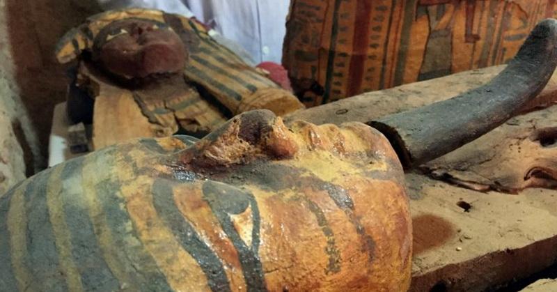 Arkeolog Temukan Makam Berusia 3 Ribu Tahun di Mesir