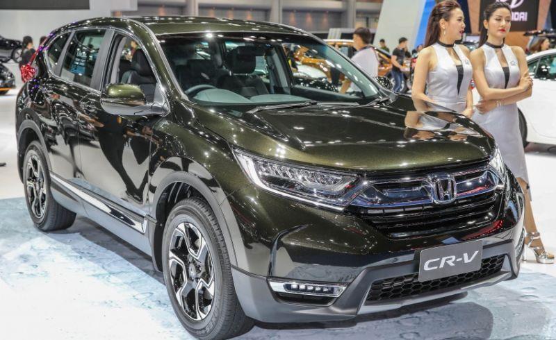 Honda CR-V 7-seater meluncur di Thailand (Paultan)