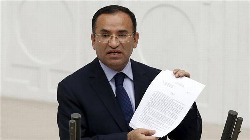 Foto Menteri Kehakiman Turki, Bekir Bozdag (Foto: Reuters)