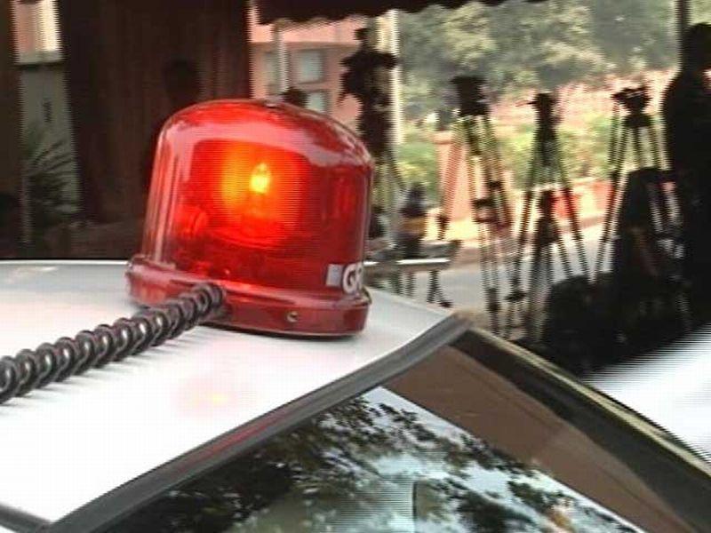 Rotator seperti inilah yang kerap ada di mobil para pejabat India (Foto: NDTV)