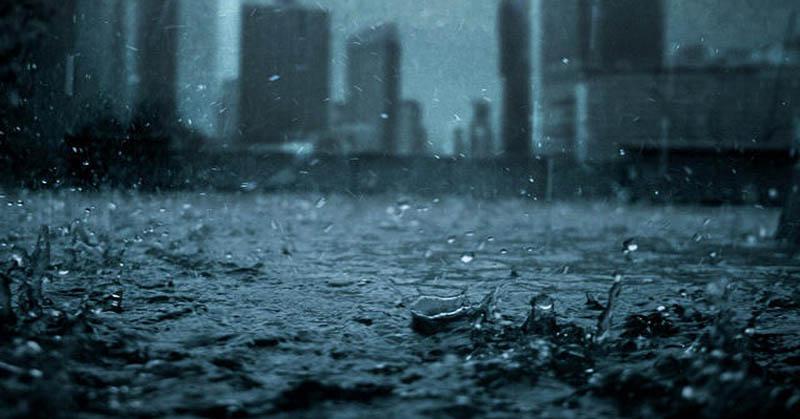 Foto Hujan Badai di Bandung Viral di Medsos