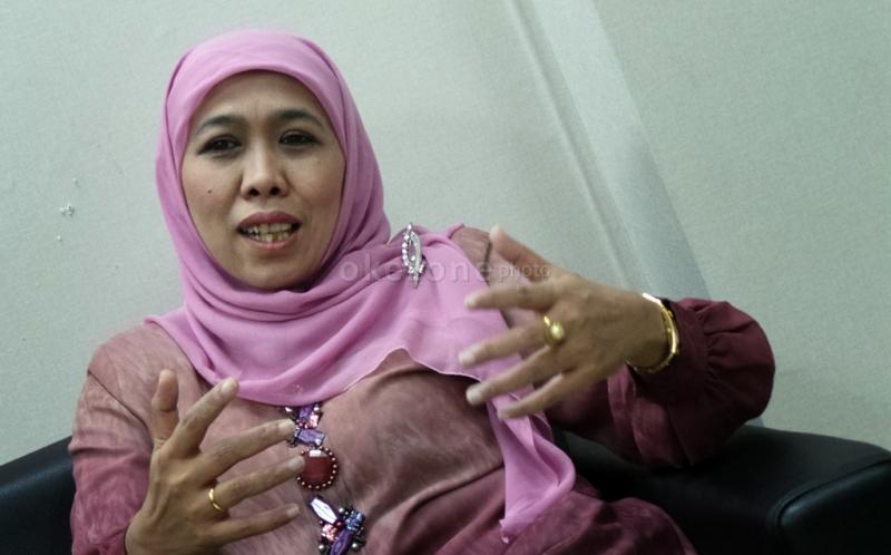 Menteri Sosial RI Khofifah Indar Parawansa (Foto: Okezone)