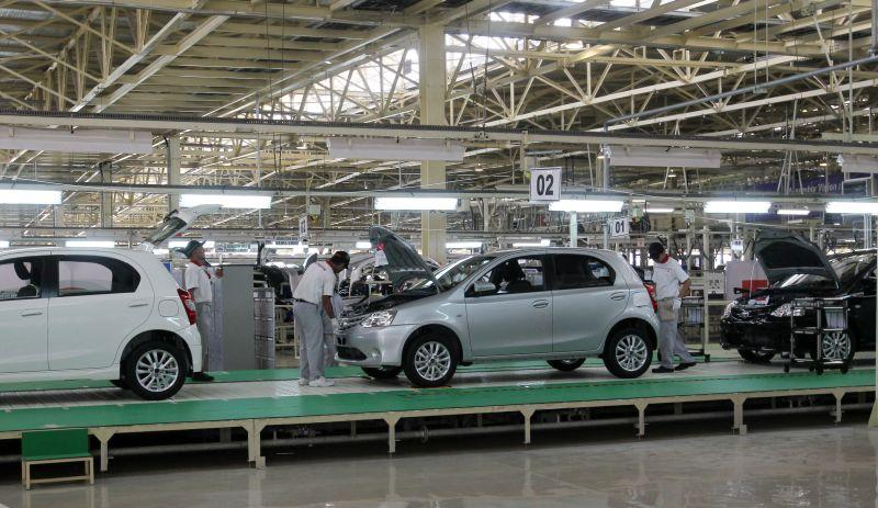 Ilustrasi produksi mobil (Foto: Koran sindo)