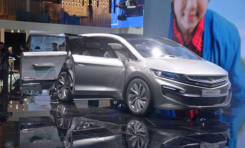 Mobil konsep Geely (Paultan)