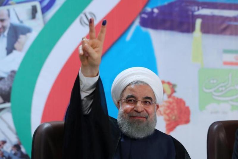 Presiden petahana Iran Hassan Rouhani (Foto: Reuters)
