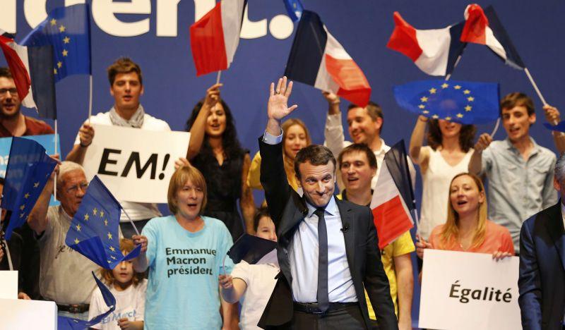 Capres Prancis Emmanuel Macron. (Foto: Reuters)
