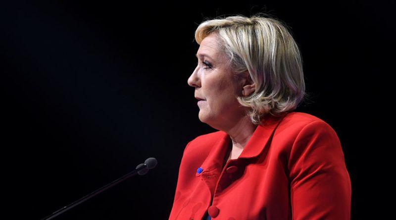 Foto calon presiden Prancis, Marine Le Pen (Foto: AFP/Getty Images)
