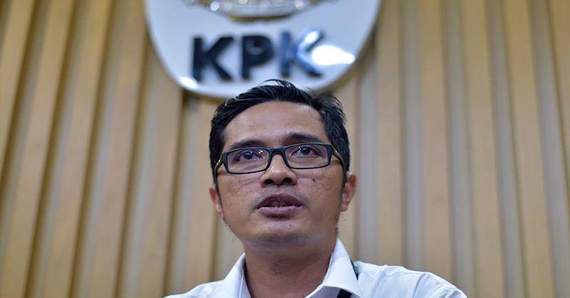 Juru Bicara KPK Febri Diansyah. (Foto: Antara)