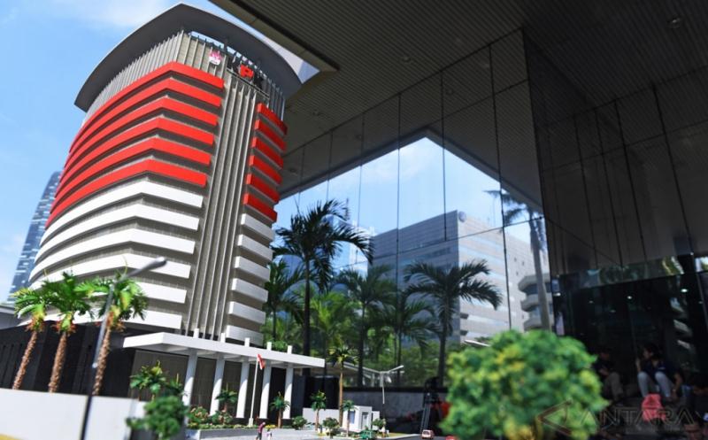 Gedung KPK (Foto/Antara)