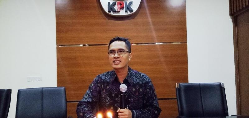 Juru Bicara KPK Febri Diansyah. (Foto: Dokumentasi Okezone)